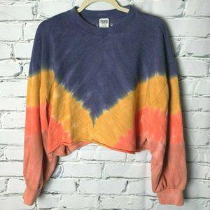 😊 Victoria's Secret PINK Crop Sweatshirt Large
